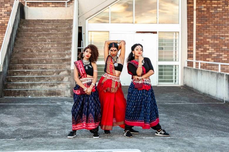 Meet the Bindi Bosses: Ragavi Ragavan, Shyamla Eswaran and Jes SubbImage.