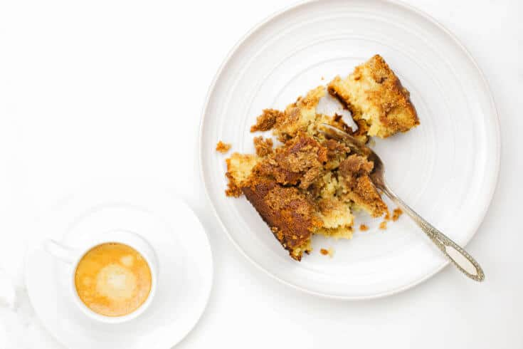 Gluten-free coffee cake recipe - Dr. Axe