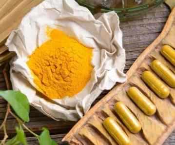 turmeric capsules and powder