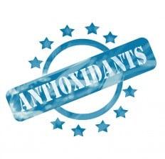 antioxidants stamp label