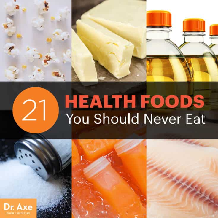 Health foods you should never eat - Dr. Axe