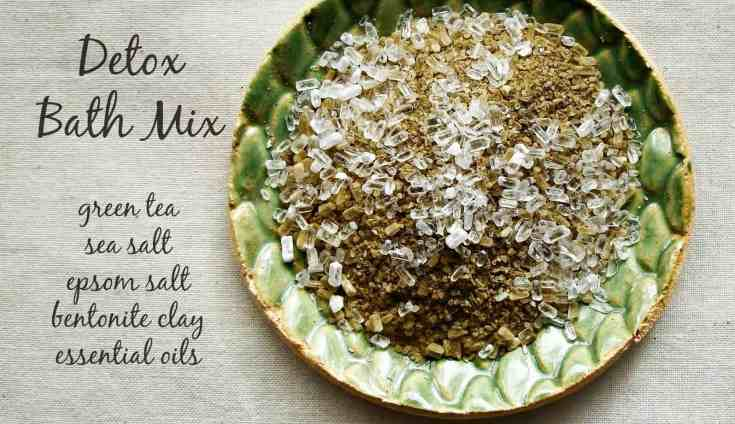 Green Tea Detox Bath Mix
