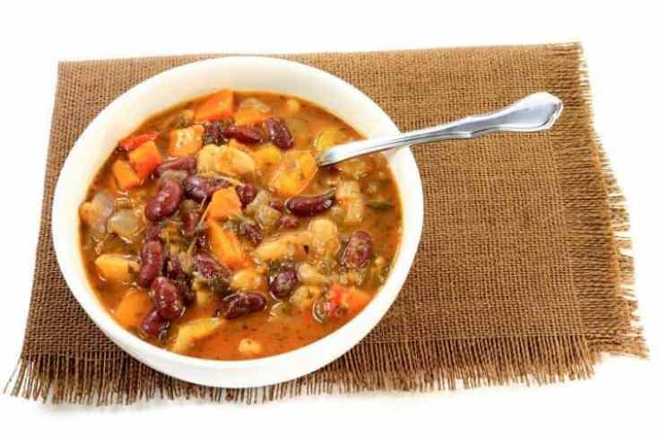 red bean minestrone