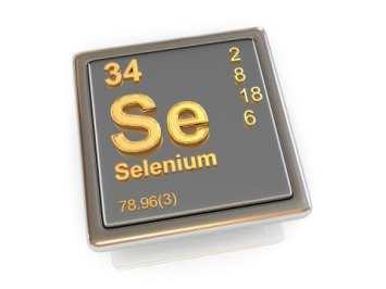 Tuile d'éléments périodiques de sélénium
