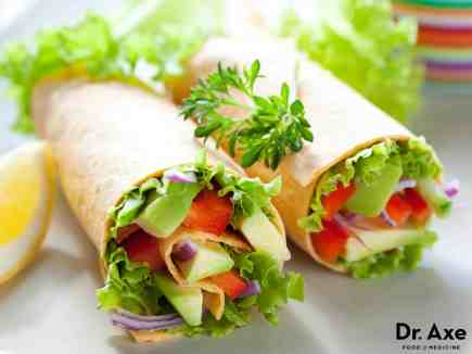 Avocado-Salad-Wrap
