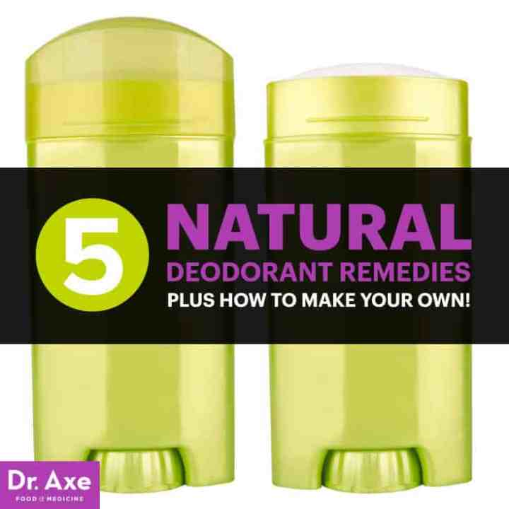 Natural deodorant - Dr. Axe
