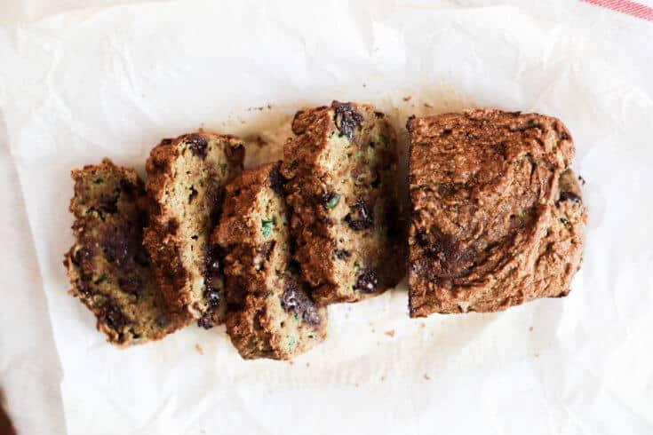 Chocolate chip zucchini bread recipe - Dr. Axe
