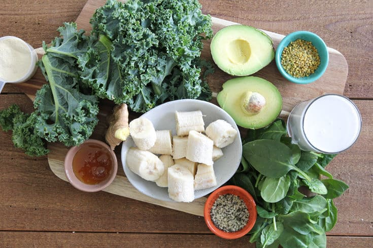 Gut-healing smoothie ingredients - Dr. Axe