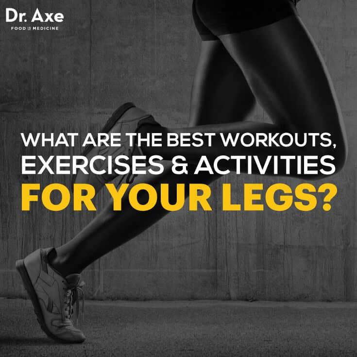 Leg workouts for women - Dr. axe