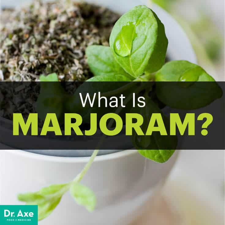 Marjoram essential oil - Dr. Axe