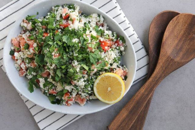 Cauliflower Tabbouleh Salad