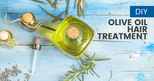 Olive Oil Hair Treatment with Rosemary   Lavender   Dr  Axe