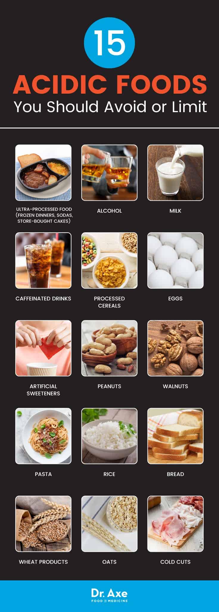 15 Acidic Foods To Avoid Healthier Alternatives