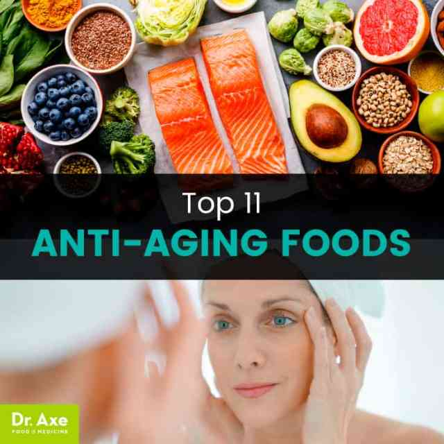 Anti-aging foods - Dr. Axe