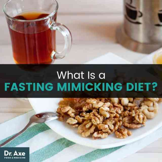 Fasting mimicking diet - Dr. Axe