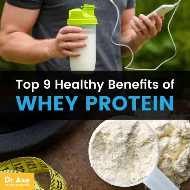Whey protein - Dr. Axe