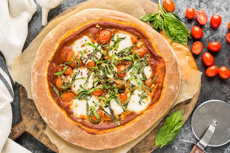 Margherita pizza recipe - Dr. Axe
