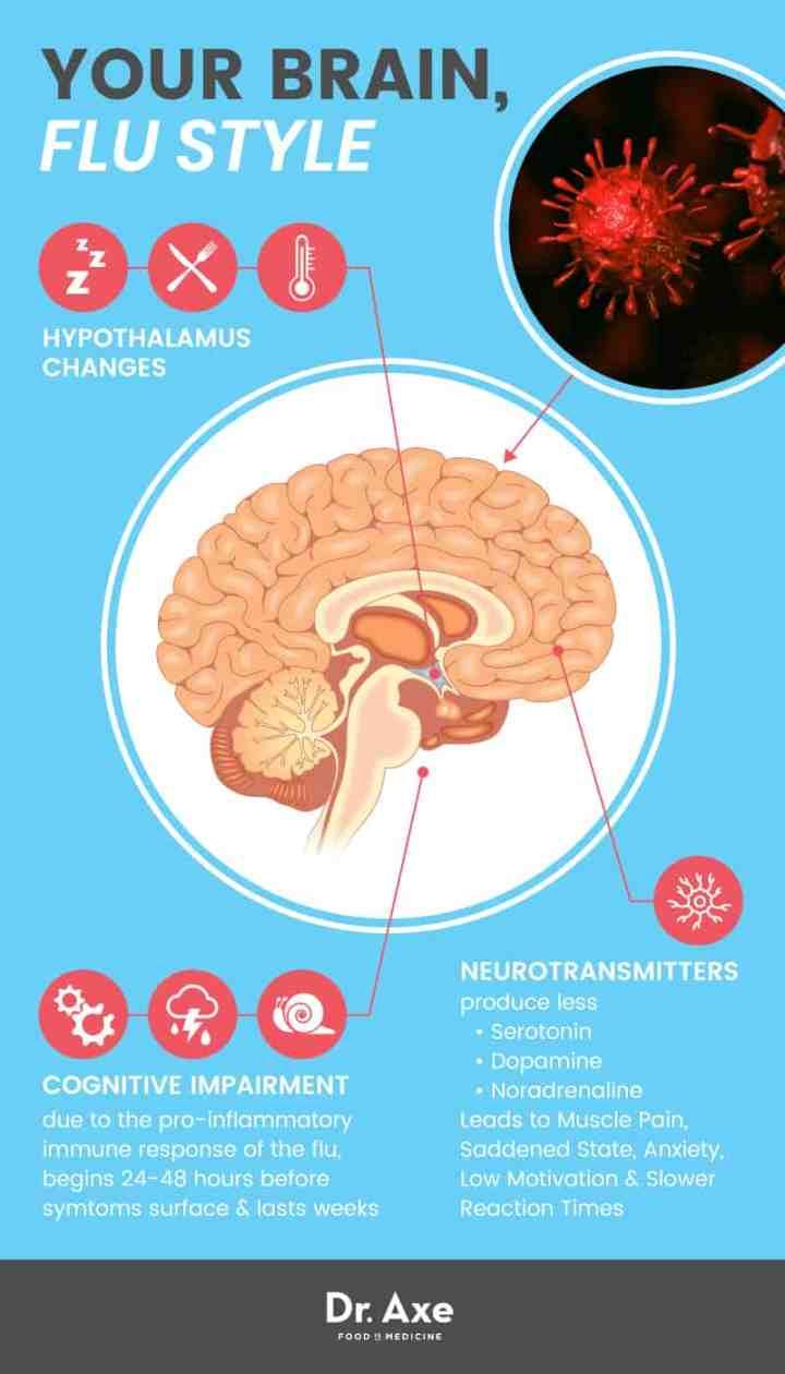 Flu brain - Dr. Axe