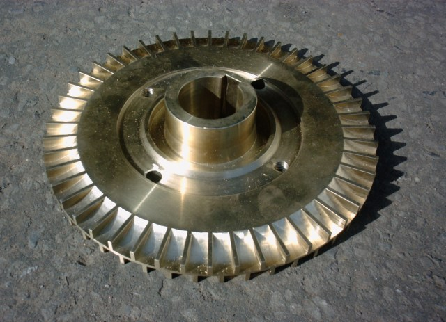 Impeller made in AB2/C95800 casting