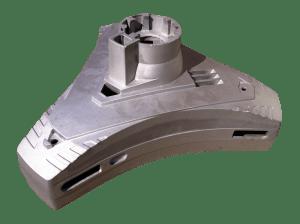 Large Aluminium LM4 Casting