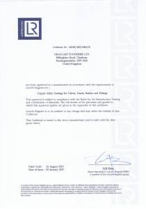 Lloyds Approved Aluminium & Bronze Casting Foundry UK