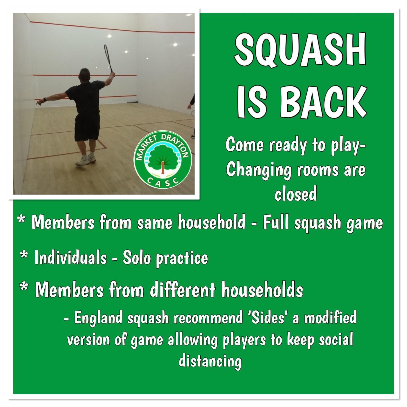 Squash Is Back