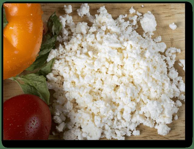 avocado substitute - feta cheese