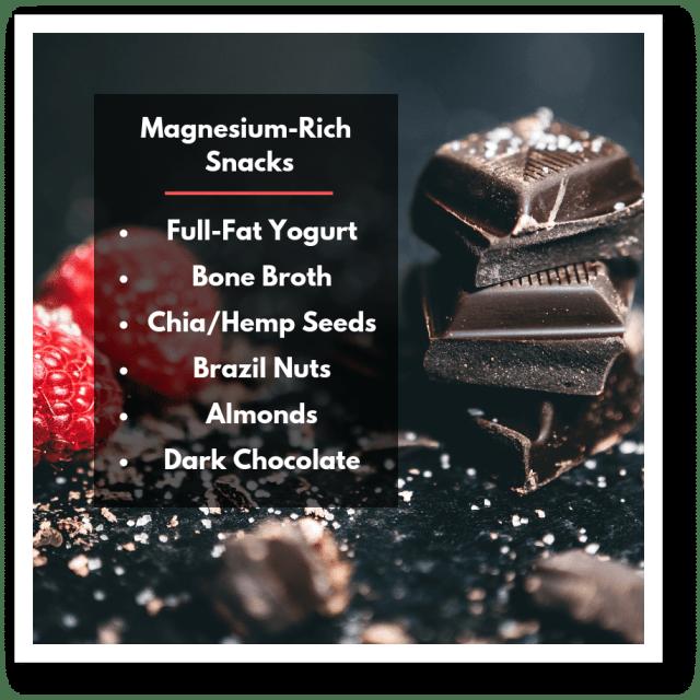 magnesium-rich snacks