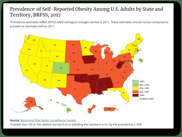 Obesity_Map 2017