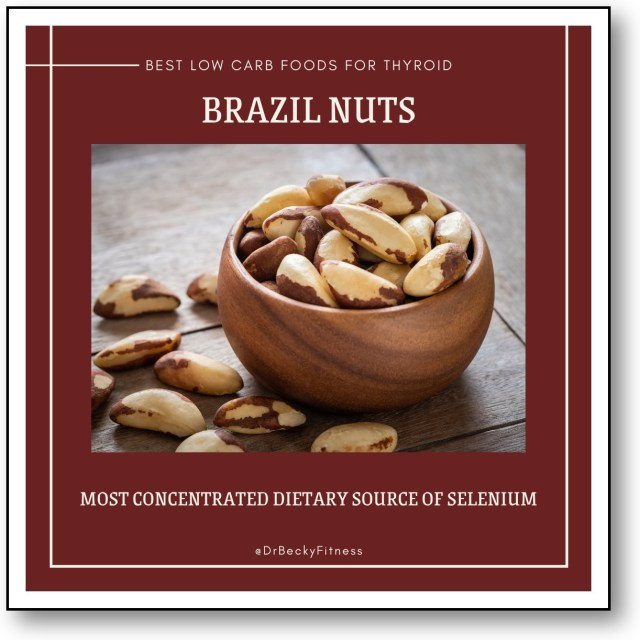 BRAZIL NUTS nutrients for thyroid support