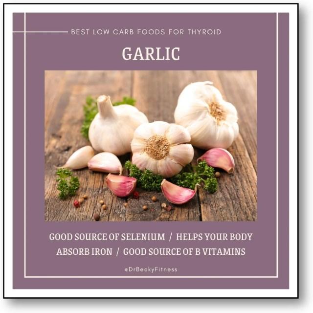 GARLIC and thyroid