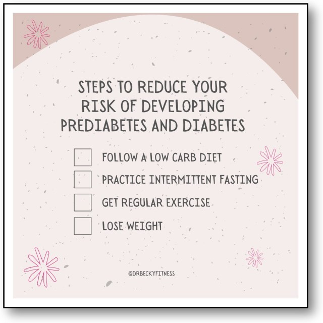 What Can I Do About Prediabetes?