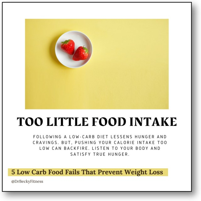 Too Little Food Intake
