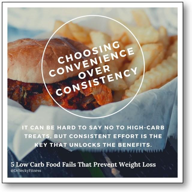 Convenience over Consistency