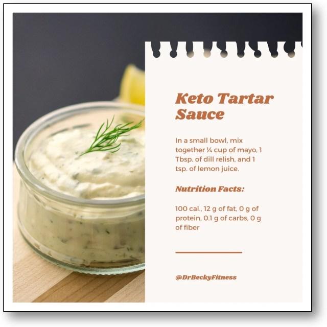 Keto Tartar Sauce recipe