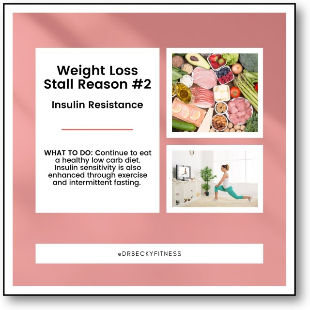 Weight Loss Stall Reason #2: Insulin Resistance