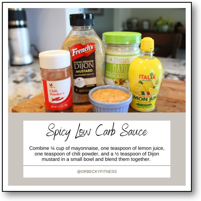 Spicy Low Carb Sauce