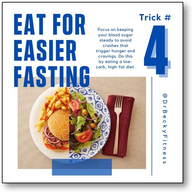 Eat for Easier Fasting