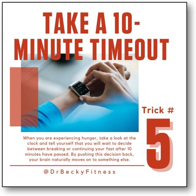 Take a 10 Minute Timeout