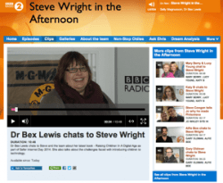 'Big Guest', Steve Wright in the Afternoon, February 2014