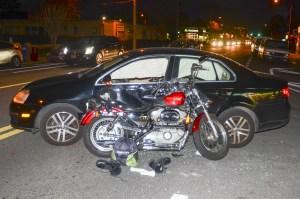 motorcycle helmet expert Hamilton crash