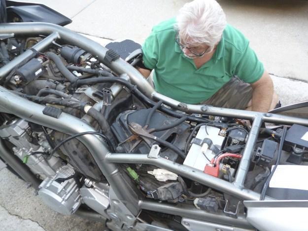 John Lloyd motorcycle accident expert inspection