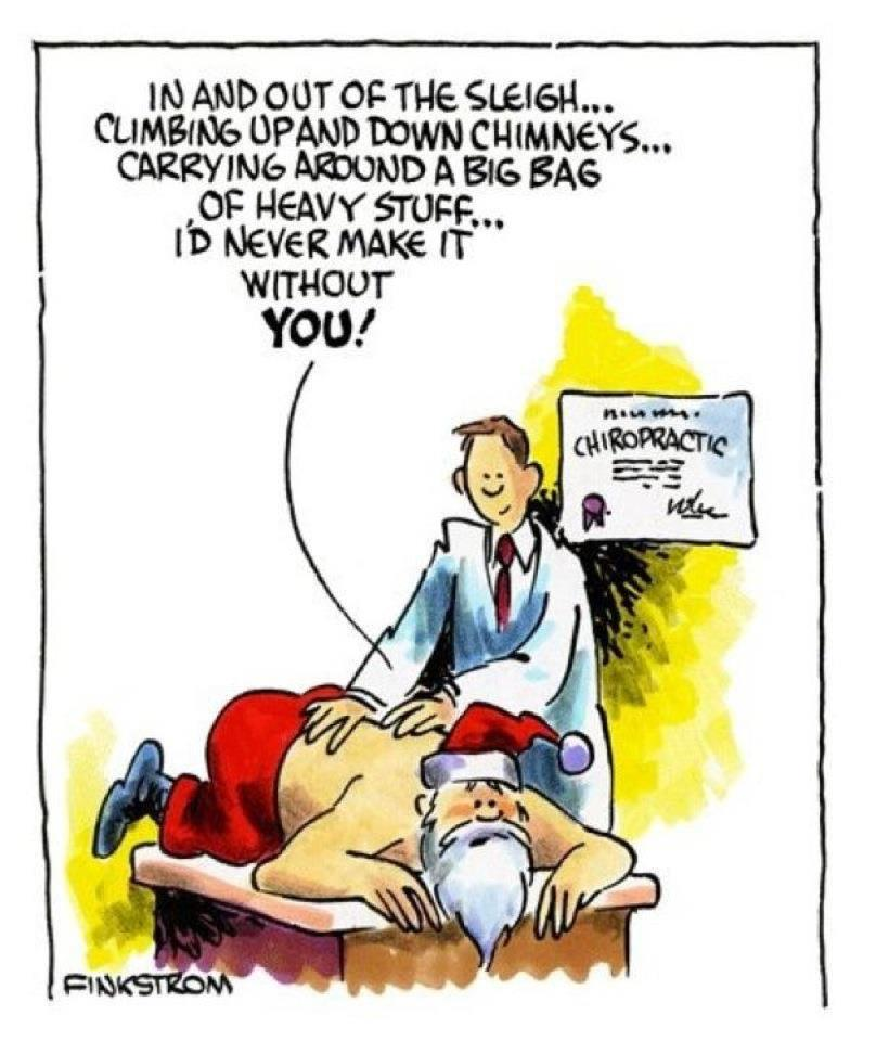 Santa Depends On A Chiropractor What About You Dr