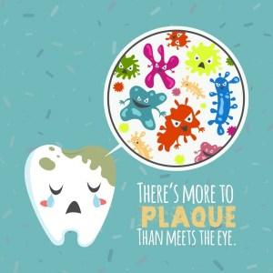 dentistry_banner_stylized_tooth_bacteria_icons_colored_cartoon_6831083