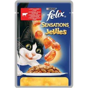 FELIX Sensations Jellies Beef –...