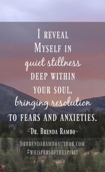 Find Him in the Quiet Stillness of Dawn by Dr. Brenda Rambo