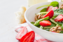 Strawberry, Walnut And Spinach Salad