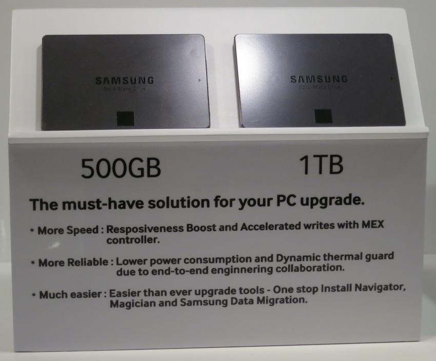 Samsung SSD 840 EVO 500GB 1TB