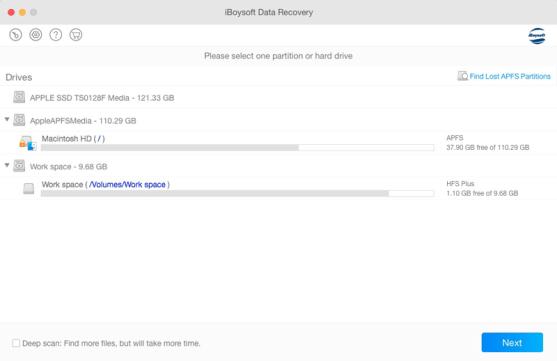 recuperar datos borrados en Mac