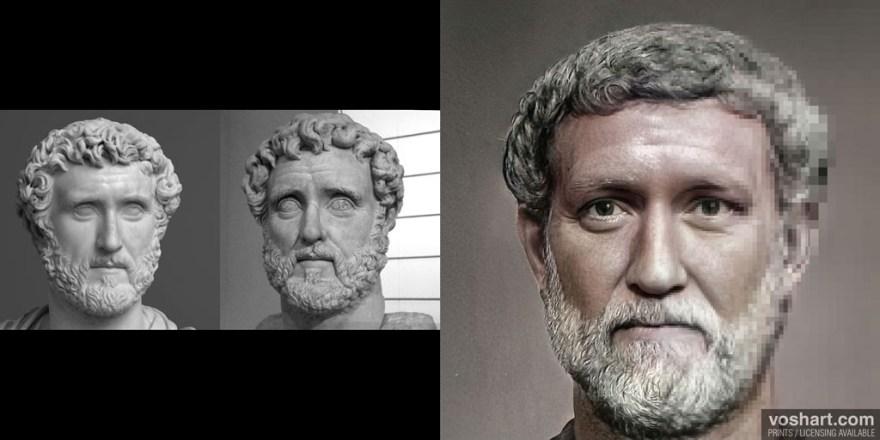 emperadores romanos en  la actualidad